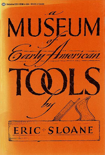 eric sloane museum of tools front cover