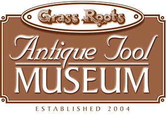 grass roots tool museum sign