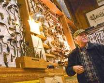 museum curator mike snegg